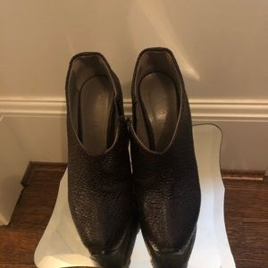 Acne Studios Brown Leather Bootie size 7